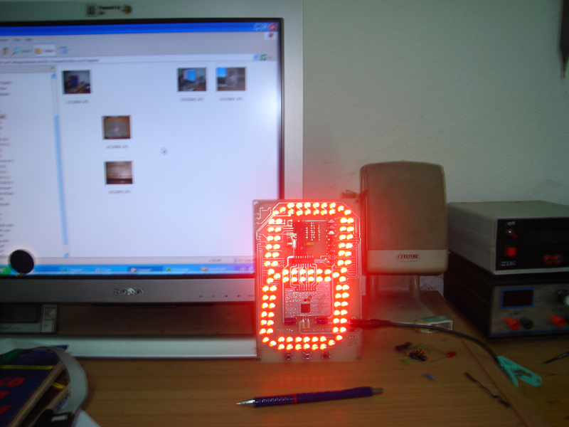 7 segment big LED display