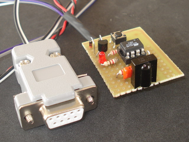 Infrared Remote control receiver circuit