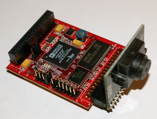 SRV1 robot camera module