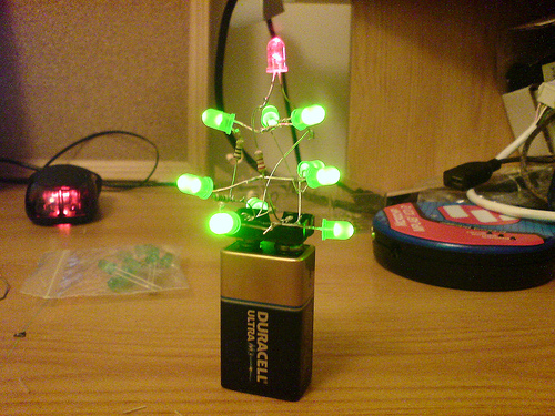 Simple Led Christmass Tree