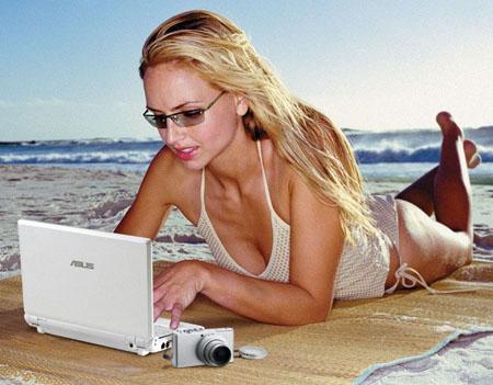 Asus Eee PC girl