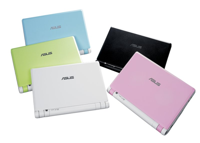 Asus Eee PC all collors