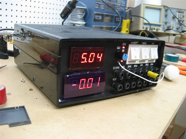 DIY Personal Bench Power Supply
