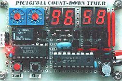 PIC16F84A - Countdown timer (7 segment LED)