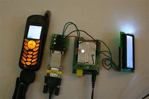 Arduino mobile processing all together