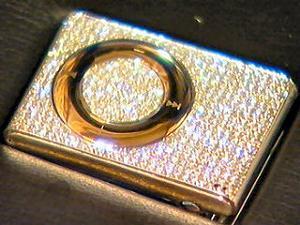Bling Bling $40000 iPod Shuffle