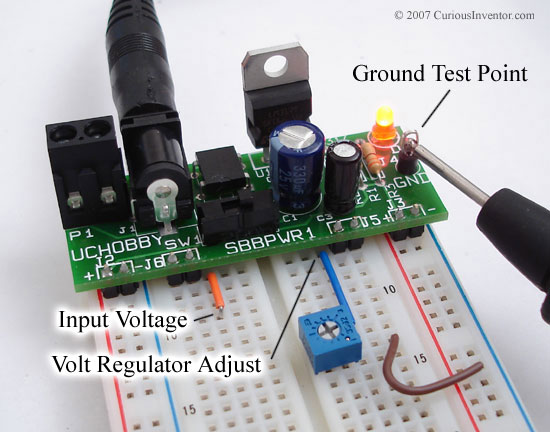 Bread-Board Power Supply Kit