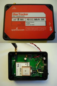 DIY Worldwide GPS Tracking System board