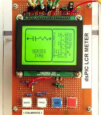 dsPIC30F4012  DIY LCR Meter