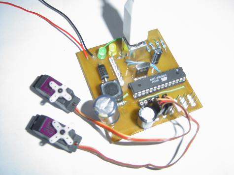 USB controlled robot servo picture