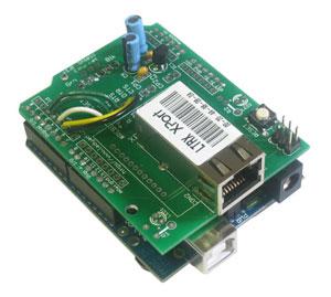 Arduino Ethernet (XPort) shield kit