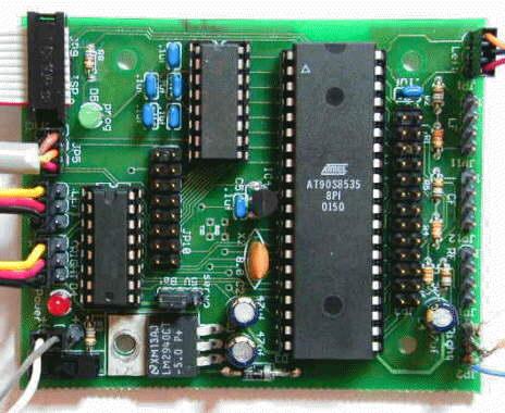 AVR Robot Controller board