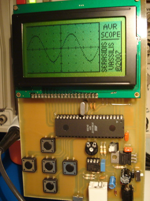 DIY Oscilloscope up to 5 kHz