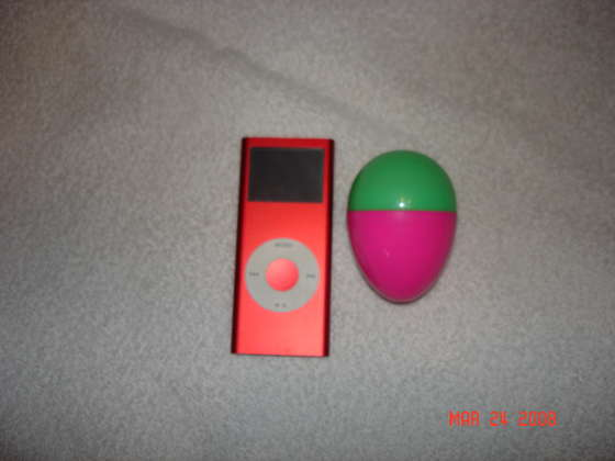 Easter Eggs iPod headphones holder