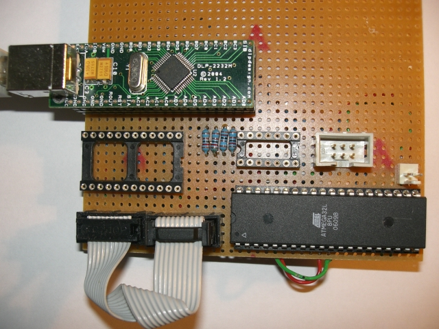 HappyJTAG2 - JTAG AVR interface board