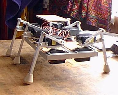 Hexbot the home made hexapod robot
