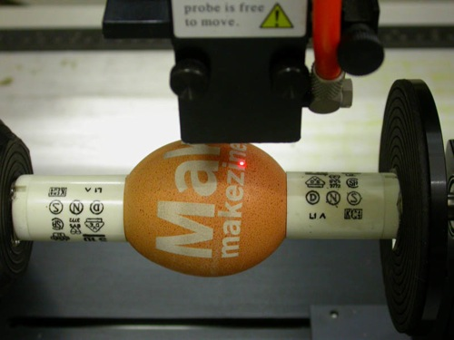 Easter egg LASER etching
