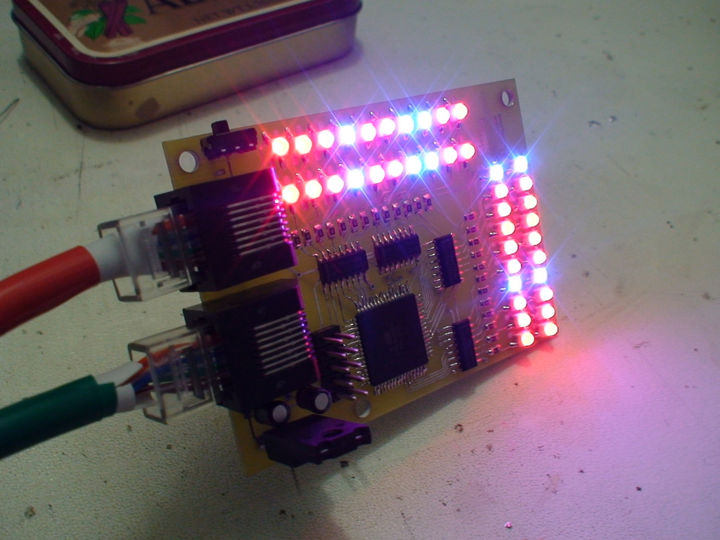 Light Grow for Super Efficient Photosynthesis Assembled Board