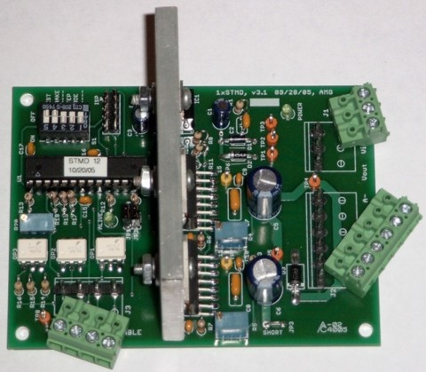 Microstepping Bipolar Stepper Motor Driver