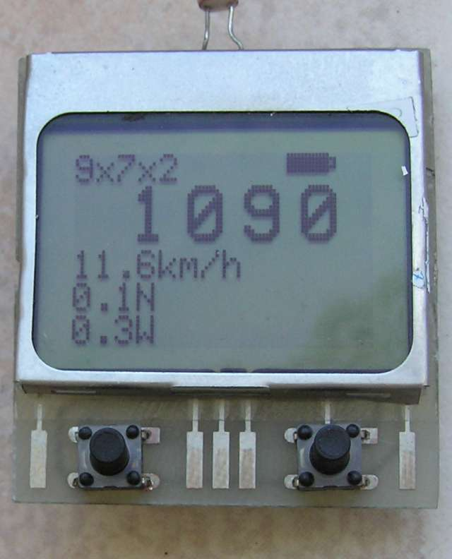 RC hobby tachometer project