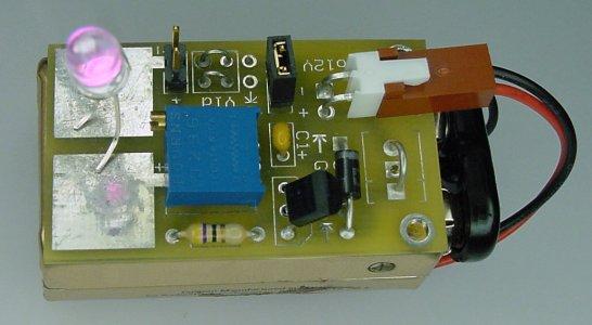 led tester assembled