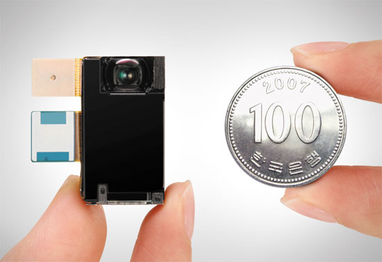 The world's first ultra-thin 8.5mm camera module by Samsung