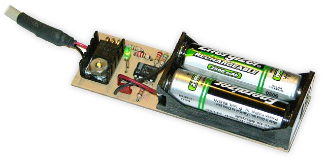 USB AA NiMH and NiCd Battery Charger