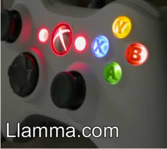 Xbox 360 controller Disco LED hack