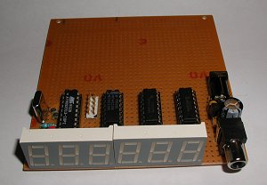 AT90S2313 Based Frequency Counter