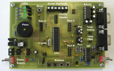ATmega48/88/168 Development Board
