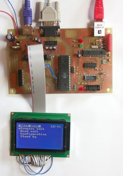 Autonomous mail system
