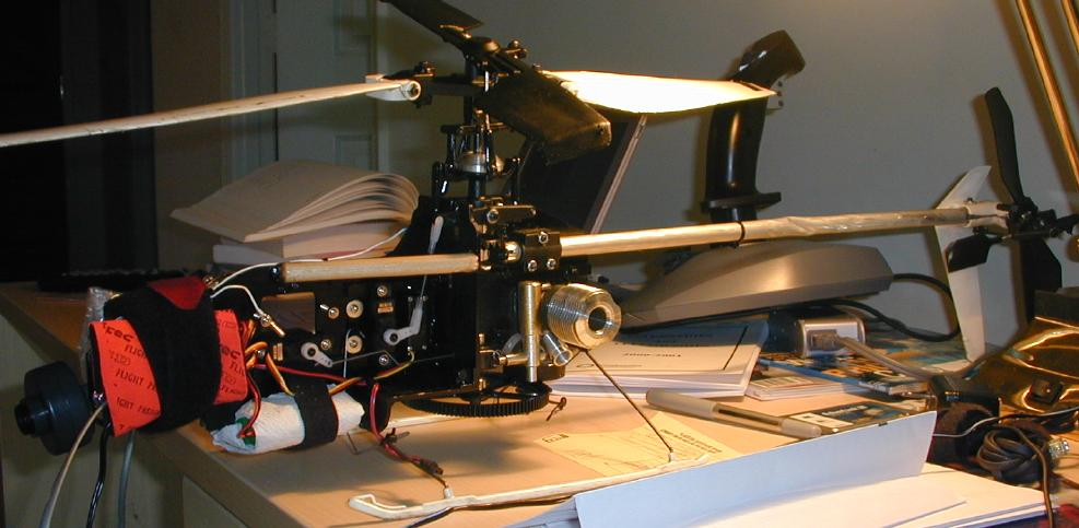 Autopilot Helicopter project
