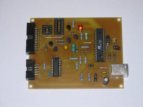 AVR-Doper: STK500 compatible in-system programmer (ISP) and high-voltage serial programmer (HVSP)