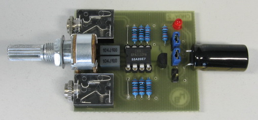 CMoy Headphone Amplifier_final PCB