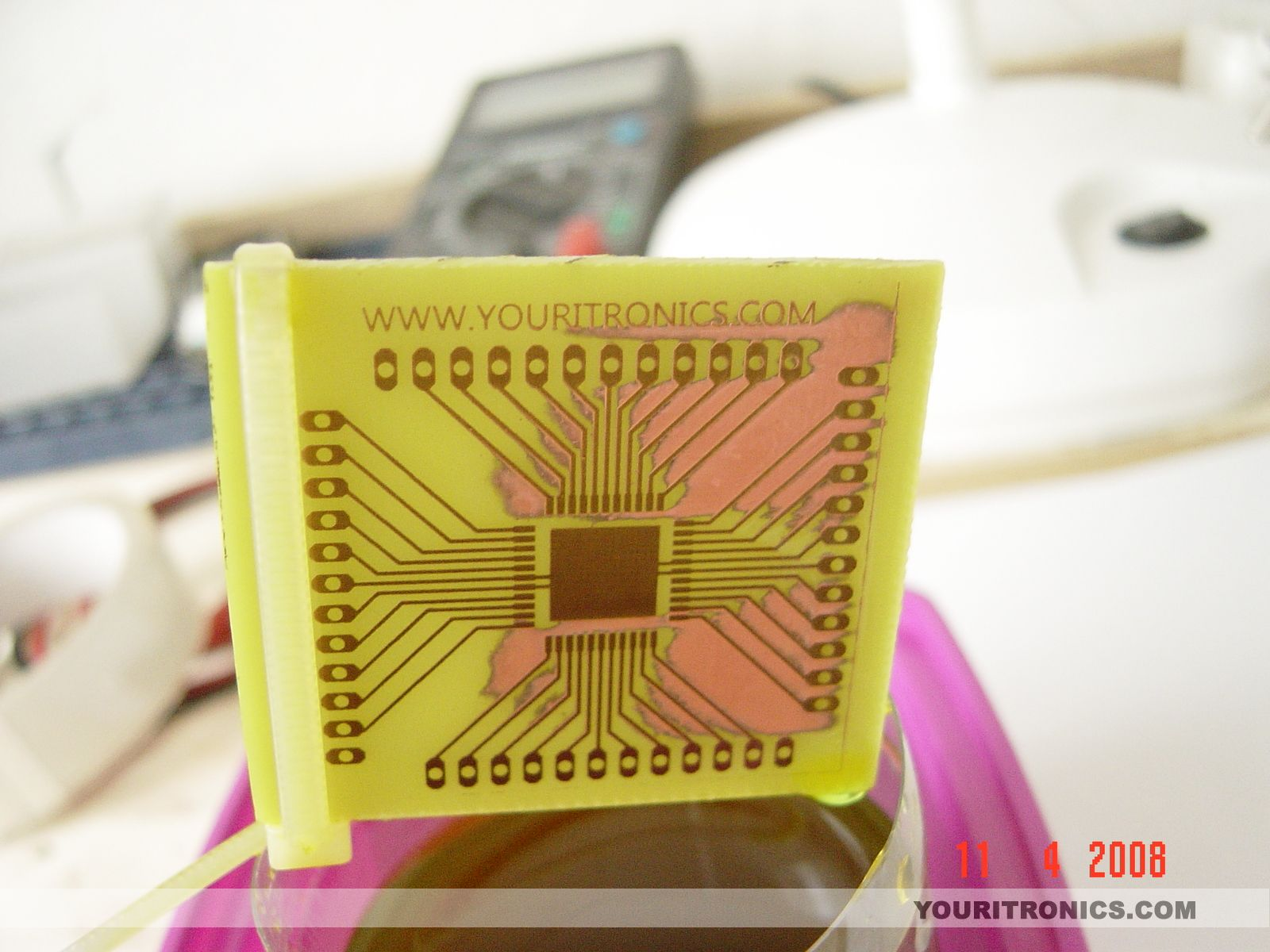 DIY Printed Circuit Board Using Photo Etching Method