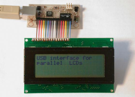 LCD USB interfacing