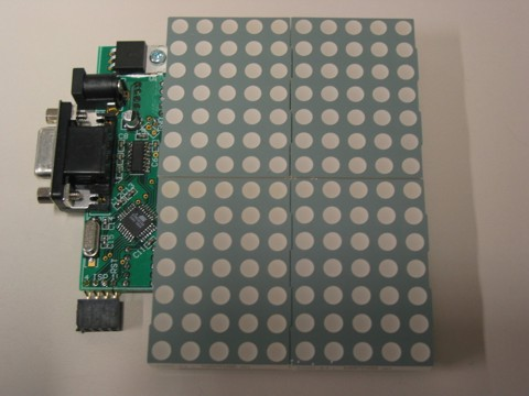 Modular LED Matrix Display