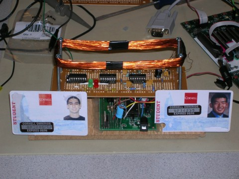 RFID Security System final assembly