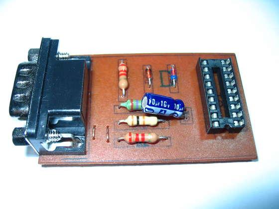Simple JDM PIC Programmer Board