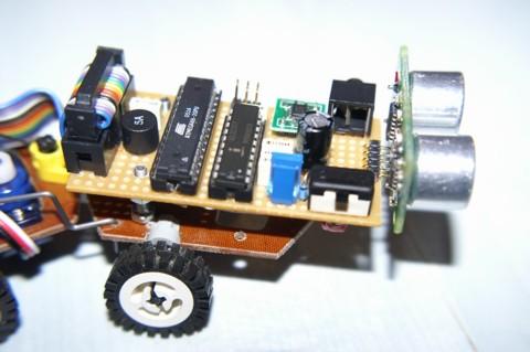 Snake robot named Snaky - module closeup