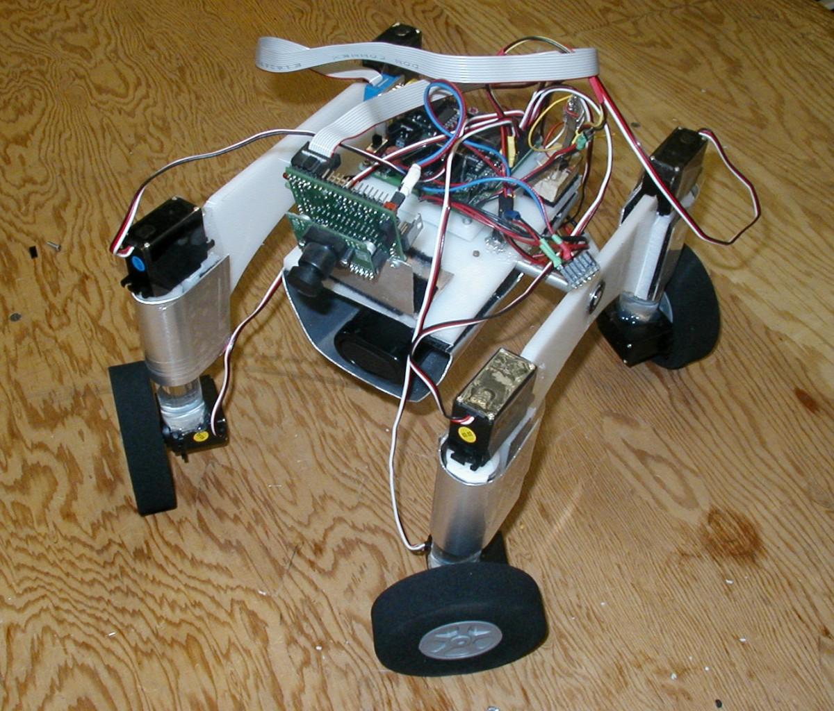 Taurus2 a reborn-ed robot