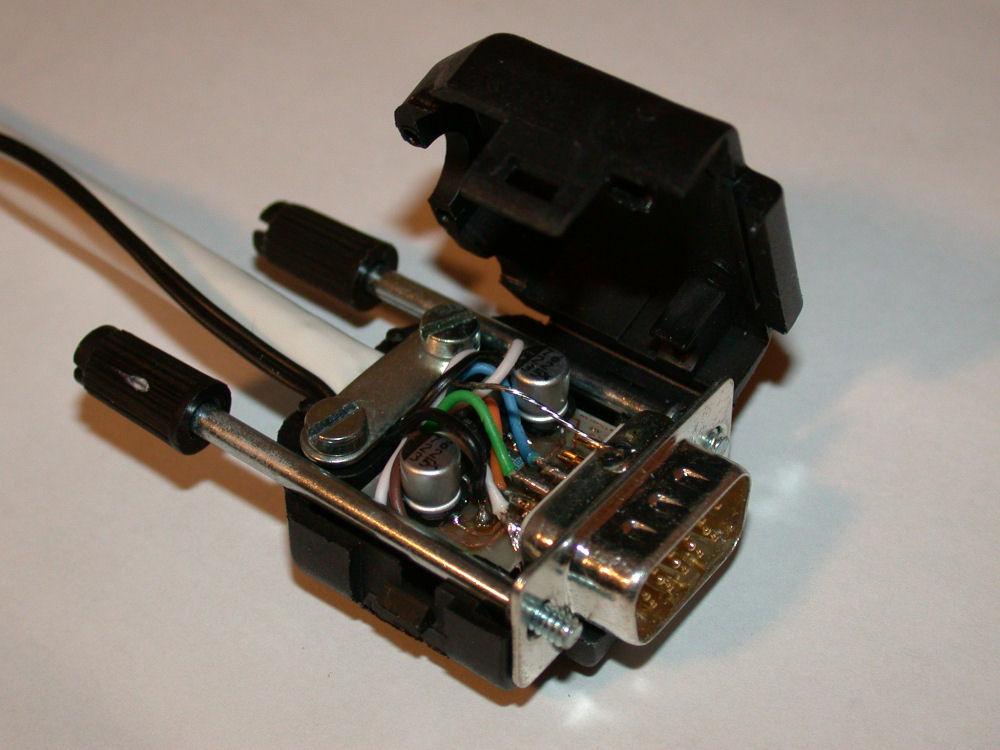 VGA to SCART RGB converter