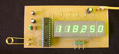 2.5 GHz Frequency counter Board