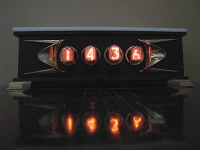 4 digits Nixie Clock