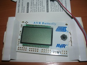 AVR Butterfly out of the box