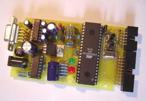 HVProg Parallel and serial High Voltage Programmer