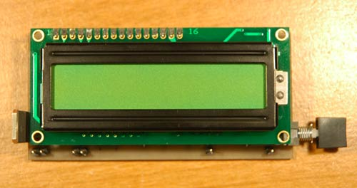 LC Meter based on PIC16F84A with LCD