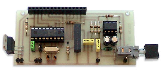 LC Meter based on PIC16F84A without LCD