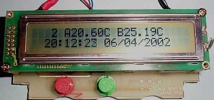 LCD Temperature Monitor