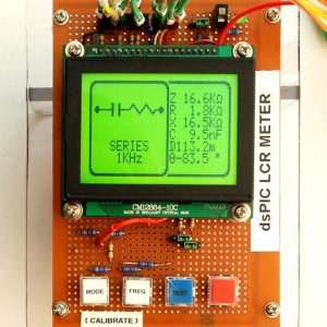 LCR Meter With LCD